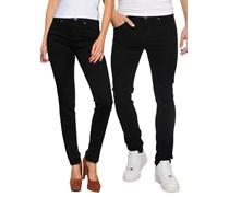 Snap Jeans, black, Unisex