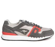 Sneaker grau/koralle
