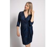 Kleid blau/schwarz