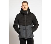 Jacke schwarz/grau