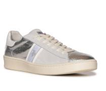 Sneaker silber/weiß