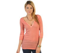 Longsleeve, Orange, Damen