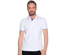 Poloshirt, Weiss, Herren