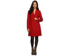 Mantel, rot, Damen