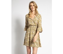 Kleid beige/multi