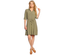 Kleid, oliv, Damen