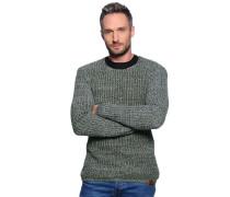 Pullover, khaki, Herren