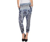 Skyscraper Jerseypant Girl, blue, Damen