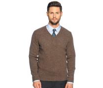 Pullover, braun, Herren