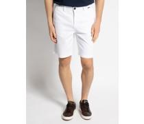 Bermuda Shorts weiß