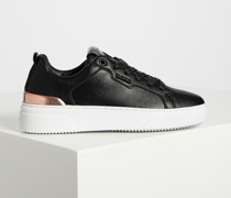 Sneaker schwarz/gold