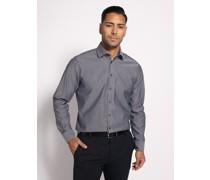 Business Hemd Custom Fit grau custom