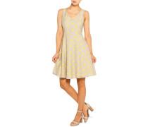 Kleid beige/gelb