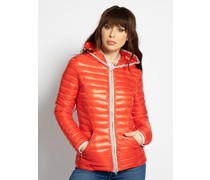 Steppjacke orange