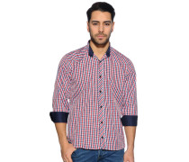 Hemd Regular Fit, Rot, Herren