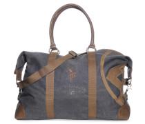 Reisetasche, grau/braun, Unisex