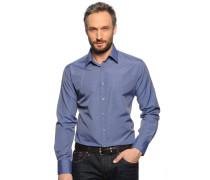 Hemd Slim Fit, blau, Herren