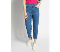 Jeans Mom blau