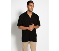 Kurzarm Hemd schwarz