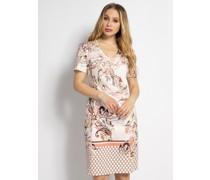 Kleid rosa/bruan/lila