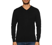 Pullover mit Kaschmiranteil schwarz