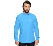 Hemd, blau, Herren