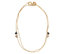 Halskette, gold, Damen