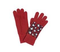Handschuhe, bordeaux, Damen