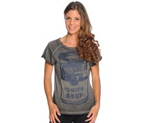 T-Shirt, anthrazit, Damen