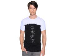T-Shirt, Schwarz, Herren