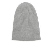 Mütze, grau, Herren