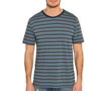 Kurzarm T-Shirt grün/blau/navy
