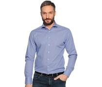 Hemd Custom Fit, blau/weiß, Herren