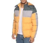 Jacke gelb/grau