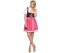 Dirndl, pink/schwarz, Damen