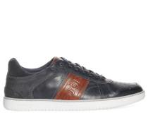 Sneaker, dunkelgrau/braun, Herren