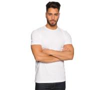 T-Shirt 2er Set, Weiss, Herren