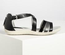 Sandalen schwarz/grau