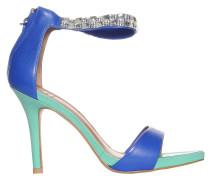 Sandaletten, blau/grün, Damen