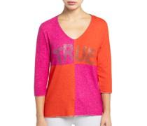 Strickshirt pink/orange