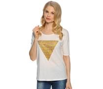 T-Shirt, weiß, Damen