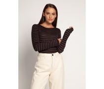 Pullover schwarz/braun