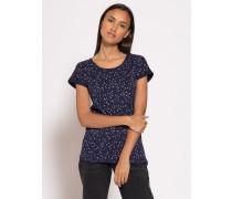 Kurzarm T-Shirt evening blue