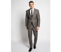 Business Anzug Modern Fit taupe