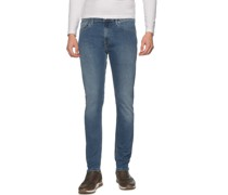 Jeans Nickel blau