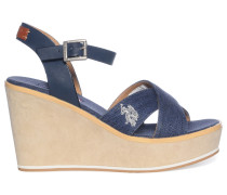 Wedges, Blau, Damen