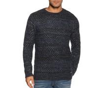 Pullover navy/weiß meliert