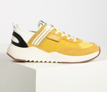 Sneaker gelb/weiß