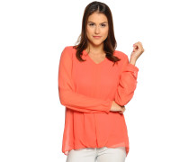 Blusenshirt, Orange, Damen