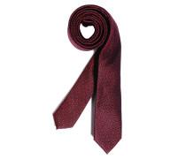 Krawatte, rot/navy, Herren